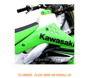 Kawasaki KX 250F gas tanks