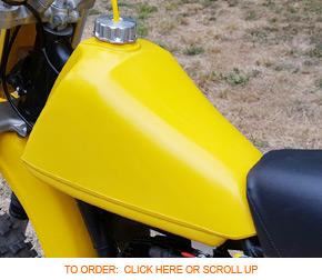 Suzuki Motorcycle Gas Tanks   Dirt Bike Gas Tanks for Sale