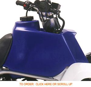 IMS Oversized 5.0 Gallon Fuel Gas Tank BLACK Yamaha Raptor 660