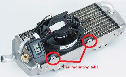 Trail Tech Digital Fan Kits
